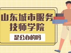 山东省城市服务技师学院是公立吗