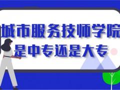 山东省城市服务技师学院是大专还是中专