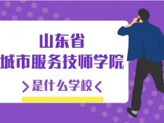 山东省城市服务技师学院是什么学校